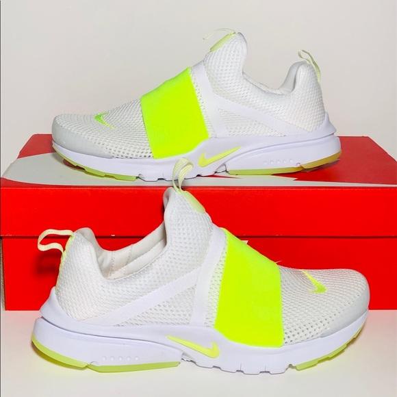 New Nike Air Presto Extreme White Volt